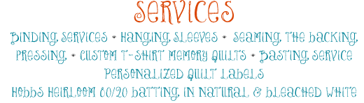 Services: